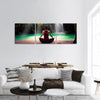 Yoga Pose Panoramic Canvas Wall Art
