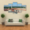 Aerial view on Washington DC Multi panel canvas wall art