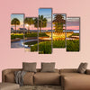 Charleston, South Carolina, USA at Waterfront Park multi panel canvas wall art