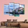 Santa Marta Lighthouse and Museum in Cascais, Portugal multi panel canvas wall art