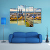 Beautiful View Of Cologne Multi Panel Canvas Wall Art