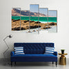 South of the Dead Sea in September Multi panel canvas wall art