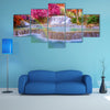 Tat Kuang Si Waterfalls at Luang prabang, Laos, multi panel canvas wall art