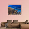 Aerial view of Frankton and Lake Wakatipu Mountain, canvas wall art