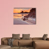 The beach of Cox Bay on Vancouver Island, Canada. Photographed wall art