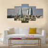 Seafront in Baku Azerbaijan Multi panel canvas wall art