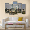 Seafront in Baku, Multi Panel Canvas Wall Art