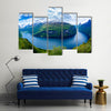 Scene Of Nature And Geiranger Fjord Multi Panel Canvas Wall Art