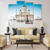 Beautiful view of famous Helsinki Cathedral Multi panel canvas wall art