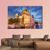 Berliner dom, Berlin cathedral at night, Germany multi panel canvas wall art