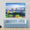 Aerial view of chinese city,Shenzhen Multi panel canvas wall art
