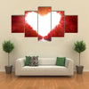 Road to love multi panel canvas wall art