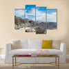 View Of Al-Hada Mountains In Mecca, Saudi Arabia, Multi Panel Canvas Wall Art