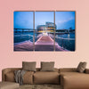 Traveling Asia City, South Korea multi panel canvas wall art
