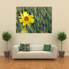 Beautiful Sun Flower In A Rainy Weather, Multi Panel Wall Art