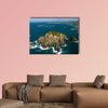 View of the Cavalli islands, Bay of Islands, New Zealand multi panel canvas wall art