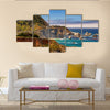 American road, Pacific Coast Highway One in California, Big Sur Multi Panel Canvas Wall Art