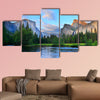 Panorama of the Yosemite Valley at the Merced River wall art