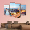 Berlin skyline multi panel canvas wall art