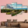Road to the Cala d'Hort beach multi panel canvas wall art