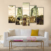 Flame Towers. A symbol of the new multi panel canvas wall art
