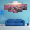 The Composition Of The Nature, Meadow Of The Lavender, Multi Panel Canvas Wall Art