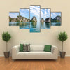 Beautiful scenery at Halong Bay North Vietnam Multi panel canvas wall art