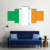 Beautiful Ireland Flag Multi Panel Canvas Wall Art