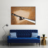 Baseball Background Multi Panel Canvas Wall Art