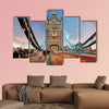 London, Tower Bridge multi panel canvas wall art