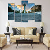 The War of Independence Victory Column at sunset Multi panel canvas wall art
