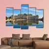 Summer palace Belvedere in Vienna multi panel canvas wall art