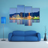 Kobe, Japan skyline at the port multi panel canvas wall art