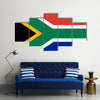 Flag of South Africa Multi panel canvas wall art