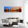 Taj Mahal, Agra, India, on sunset Panoramic Canvas Wall Art