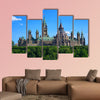 Government of Canada Parliament Buildings as seen wall art