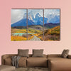 Summer day in the national park Torres Del Paine, Patagonia wall art