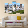 Observation deck in the Fort Adelaide on the Port-Louis Multi panel canvas wall art