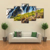 Ruacana Falls, border of Angola and Namibia Multi panel canvas wall art