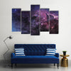 The Cosmic Luster In Nebula Multi Panel Canvas Wall Art