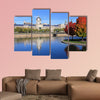 Marche Bonsecours, Montreal multi panel canvas wall art