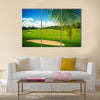 Golf course. Beautiful landscape of a golf court Multi Panel Canvas Wall Art