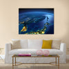 Night planet Earth, Japan and Korea, , Wall Art