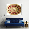Red Panel Horoscope Multi Panel Canvas Wall Art
