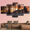 Santa Claus Village, Rovaniemi, Finland, multi panel canvas wall art
