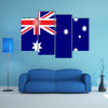 Australia flag Multi panel canvas wall art