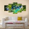 Trebizat River near Ljubuski in Bosnia and Herzegovina Multi panel canvas wall art