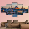 Istanbul the capital of Turkey, eastern tourist city multi panel canvas wall art