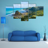 Piha Beach Located At The West Coast In Auckland New Zealand Multi Panel Canvas Wall Art