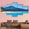 The Nacapan Islands beaches between El Nido and Coron in Palawan, Philippines multi panel canvas wall art
